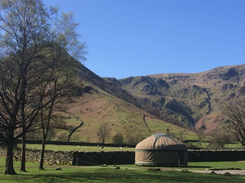 Long Valley Yurts at Sykeside Sykeside, Brotherswater, Patterdale, Cumbria CA11 0NZ