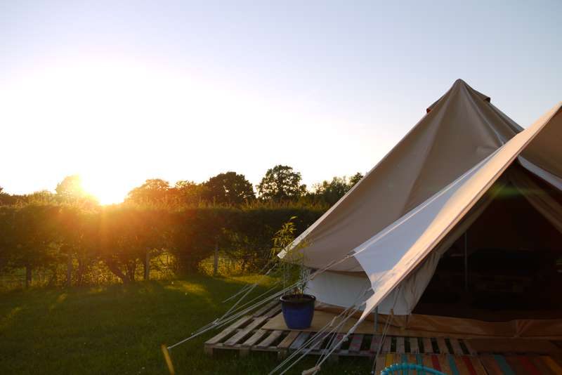 Redrock Glamping (Adults Only) Roundoak Farm, Heniker Lane, Sutton Valence, Maidstone, Kent ME17 3ED
