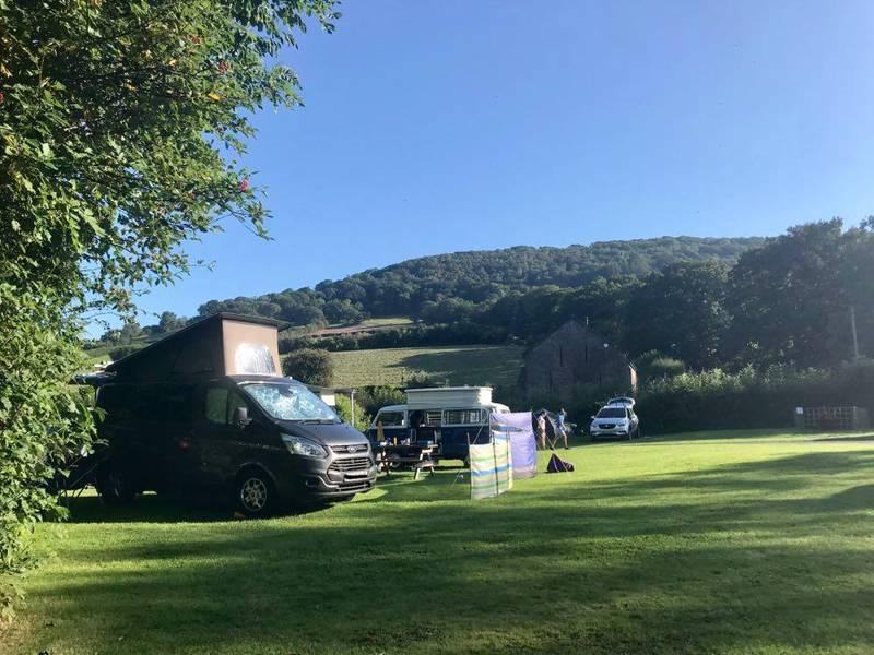 Pencelli Castle Caravan and Camping Park Pencelli, Brecon, Powys LD3 7LX