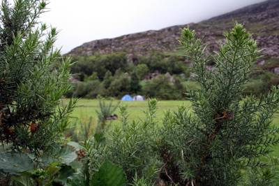 If the thought of spending the night without a hot shower or flushing toilet makes your blood curdle, but you fancy the freedom of wild camping, then you're in a bit of a quandary.