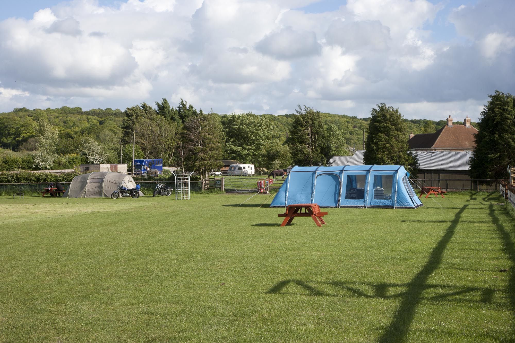 Campsites in Wiltshire holidays at Cool Places