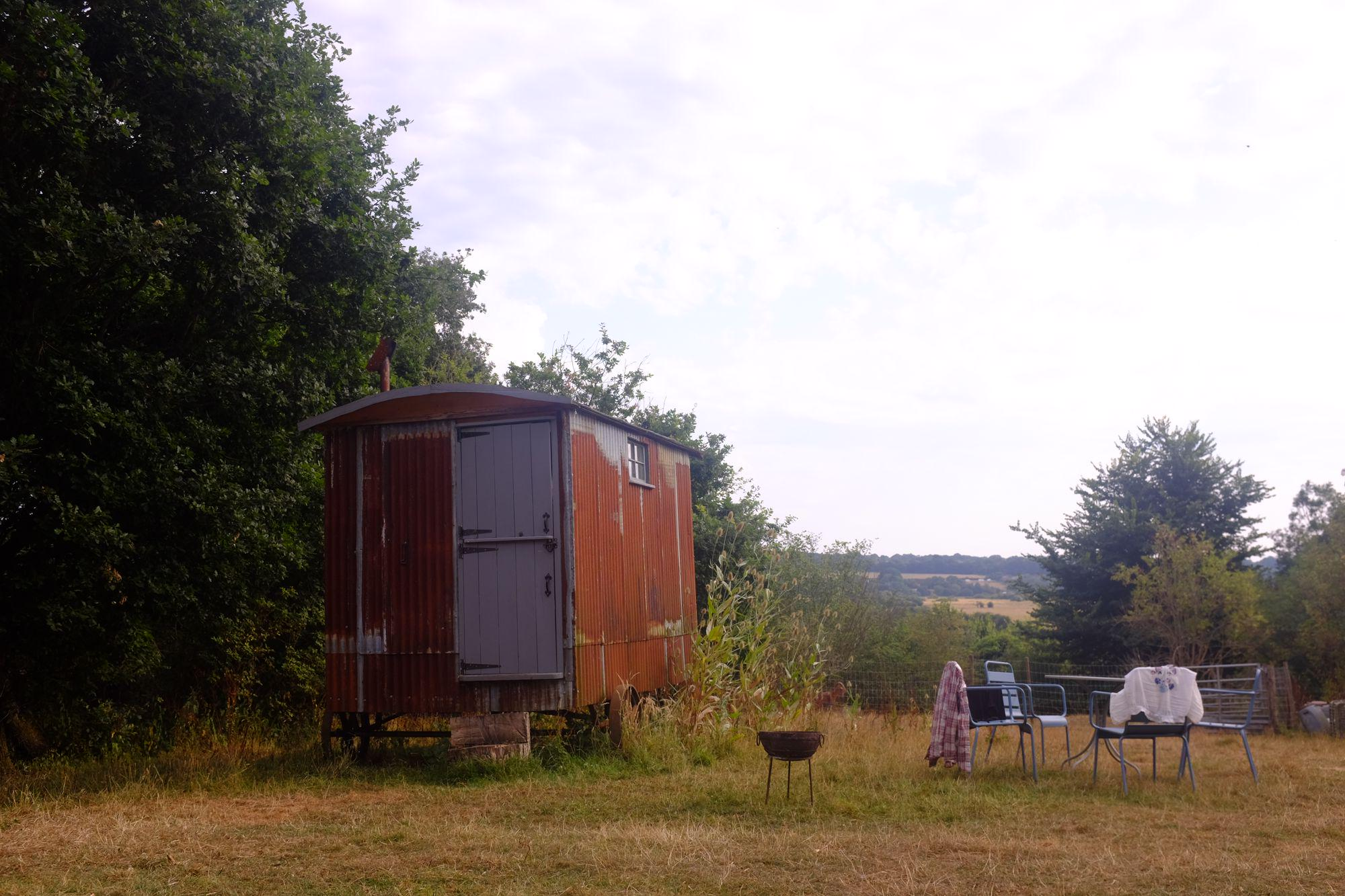 The Shepherd's Hut at Farrs Meadow
