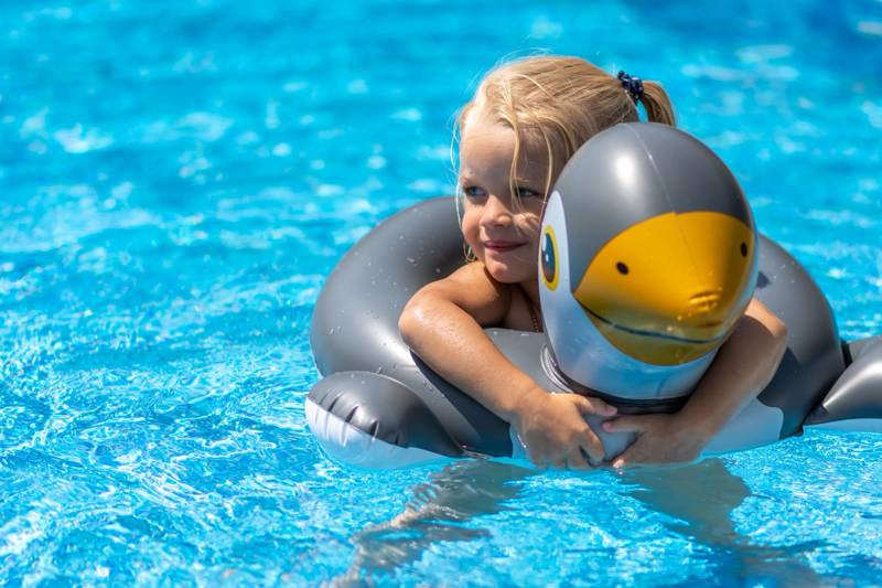 There's little to rival a swimming pool in terms of keeping kids amused on holiday