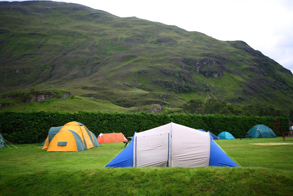 Campsites in the Highlands