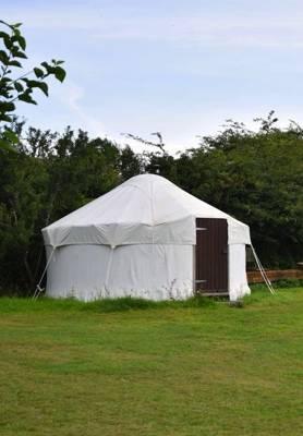 Yurt glamping in Cornwall