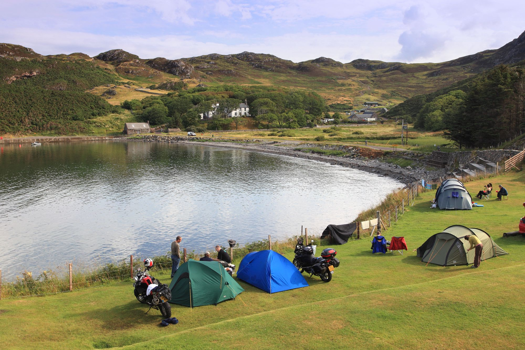 Campsites in Sutherland holidays at Cool Camping