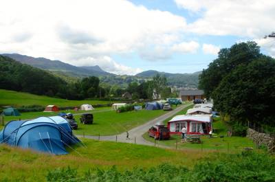 This welcoming, well-kept campsite is a great place to do very little except appreciate the wonderful, natural surroundings