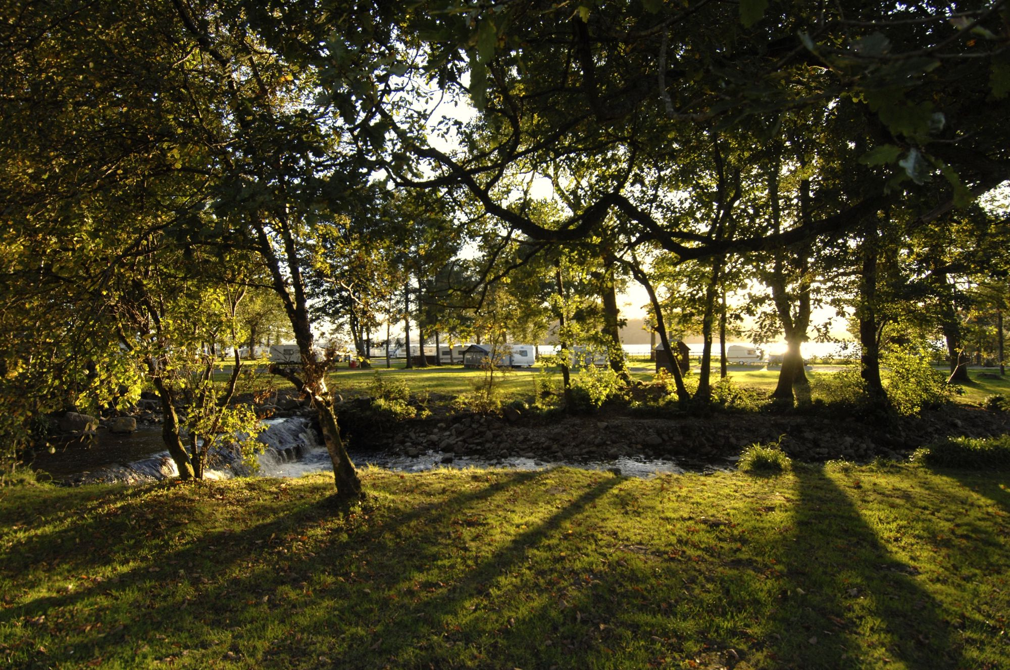 Campsites in Dunbartonshire holidays at Cool Camping