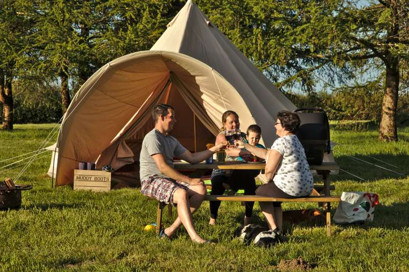Jay Furnished Bell Tent