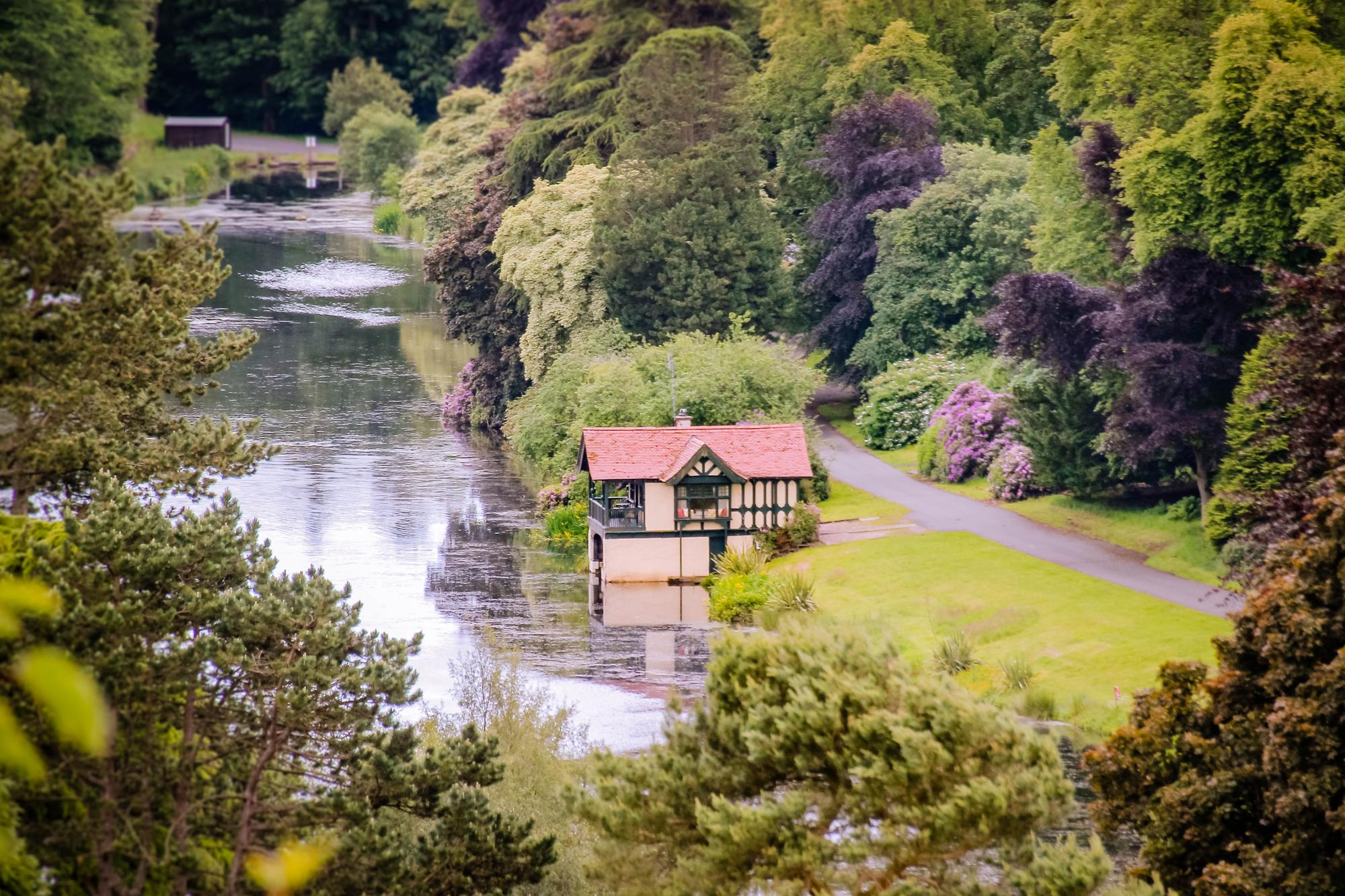 The Boathouse at Dundas Castle