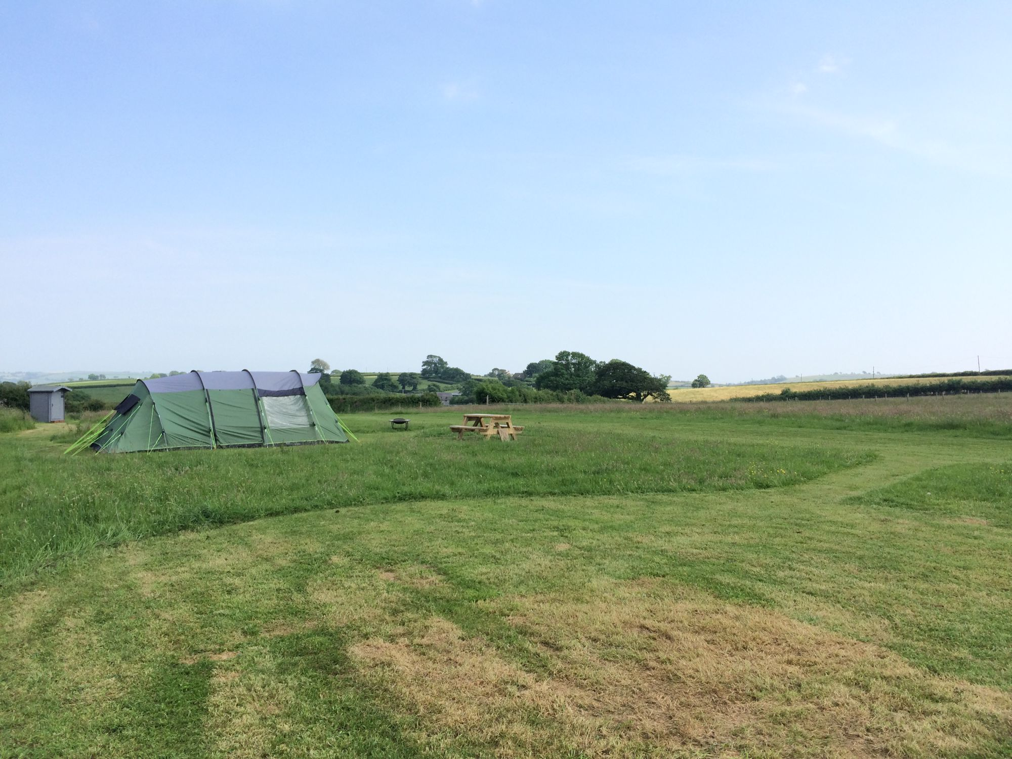 Campsites in St Clears holidays at Cool Camping