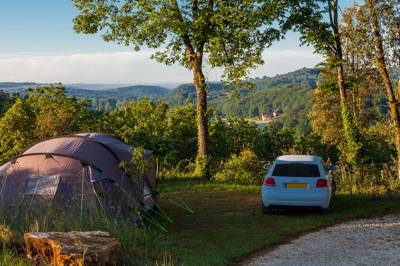 Camping Pitch, sleeps 6