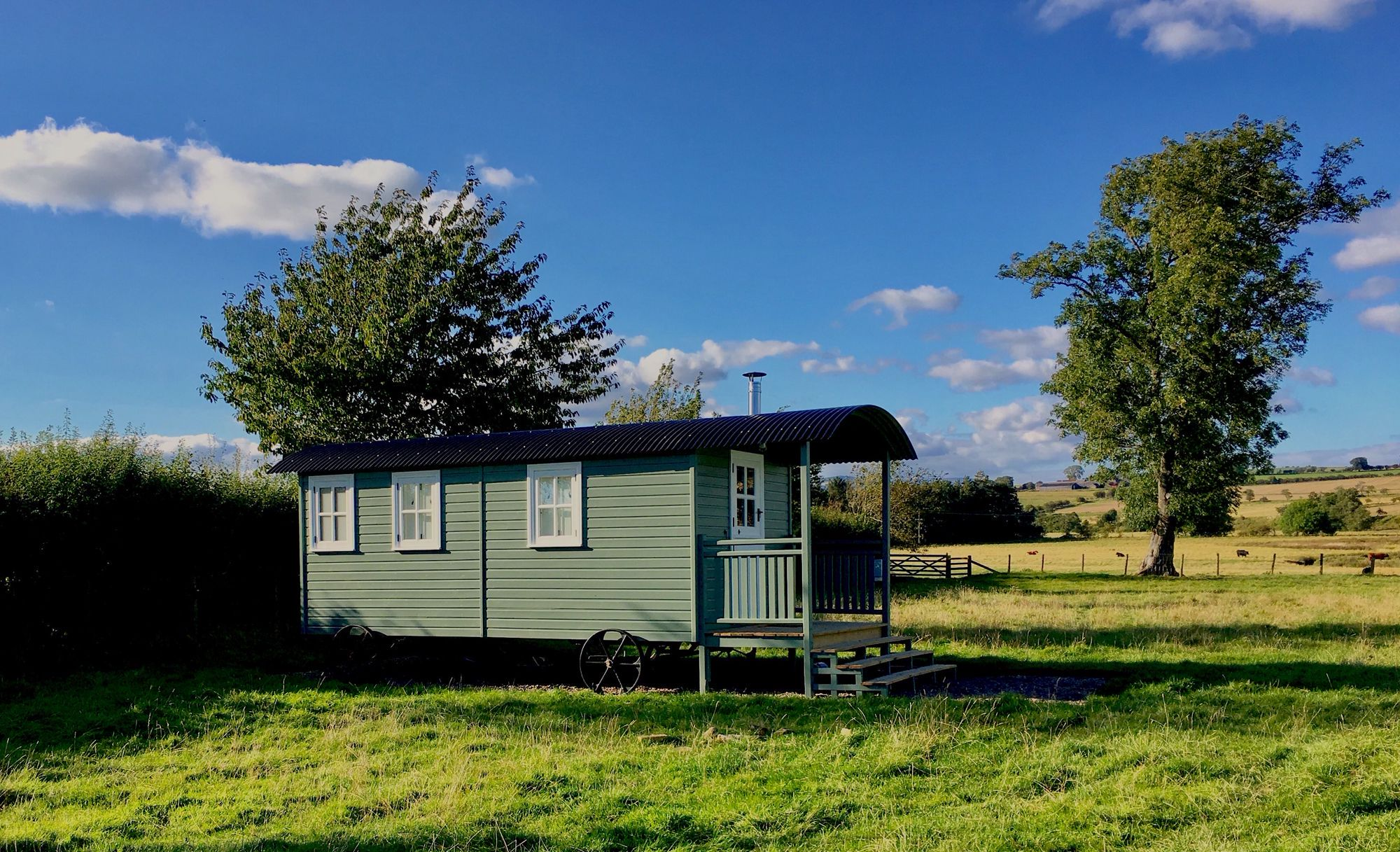Glamping in Northumberland National Park – top-rated glamping locations