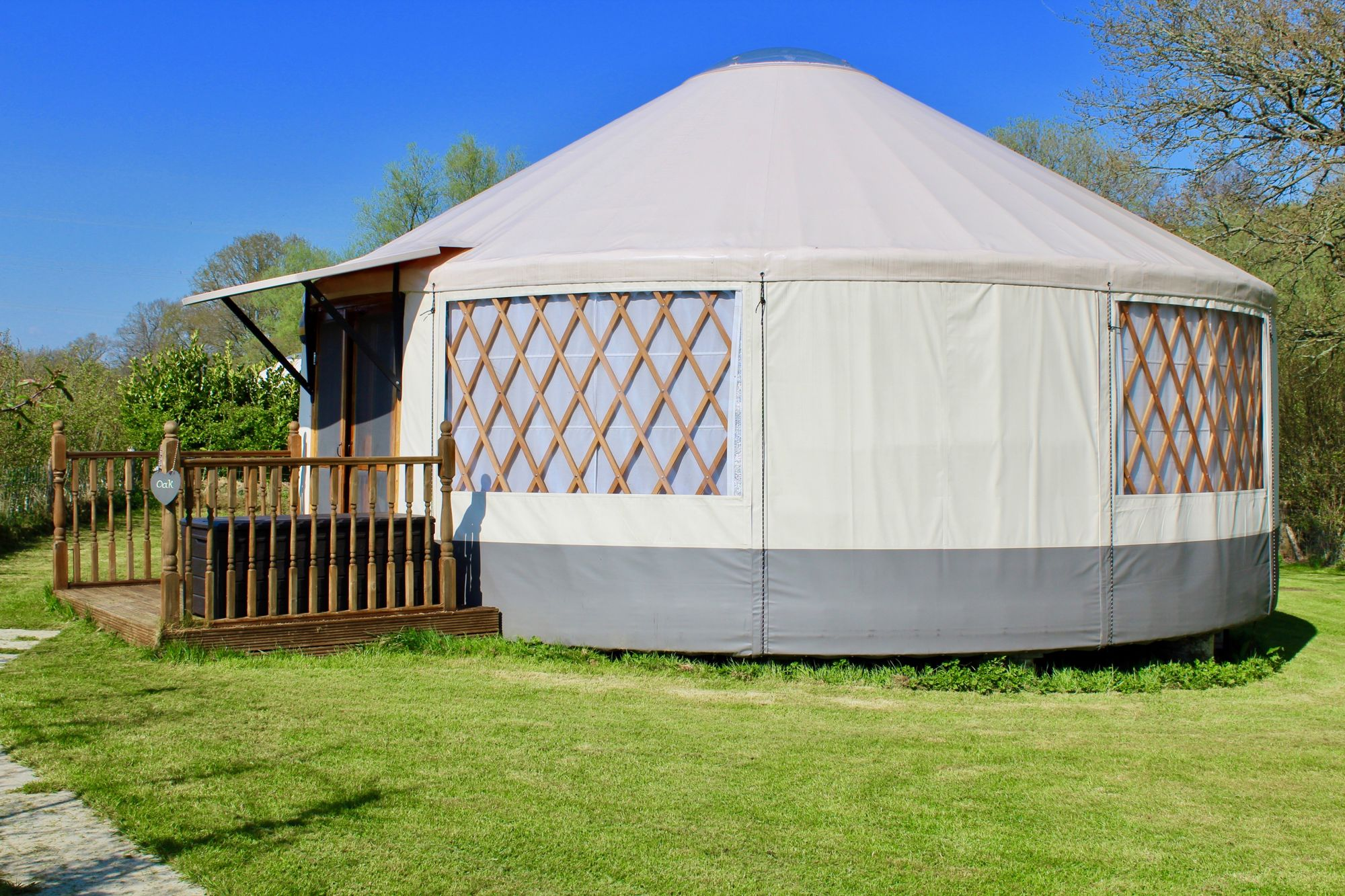Glamping in Uckfield holidays at Cool Places