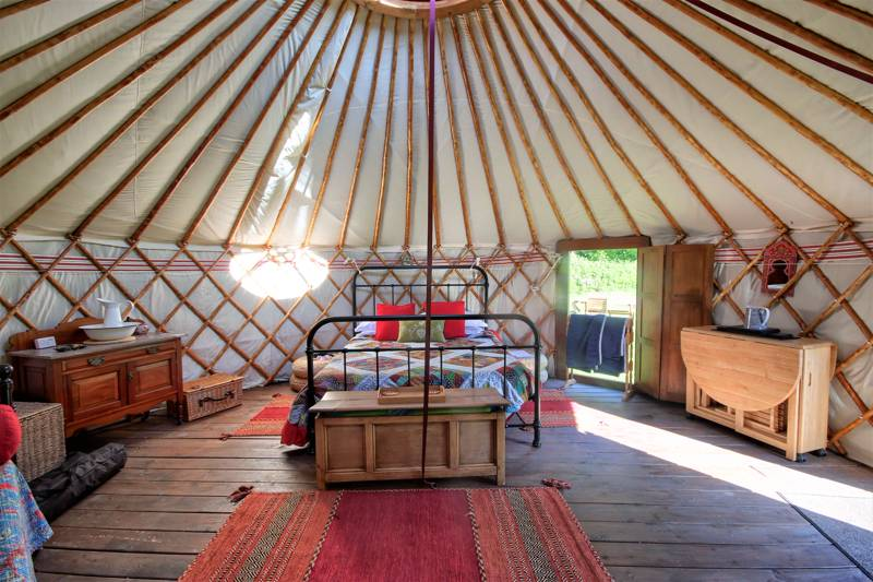 Meadowsweet Luxury Yurt