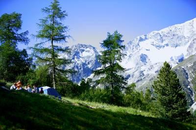 Camping Arolla Camping Arolla Route de Tsallion 1986 Arolla, Switzerland