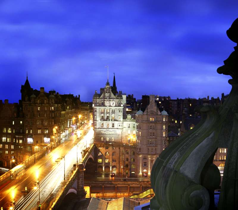 The Scotsman Hotel 20 North Bridge Edinburgh EH1 1TR