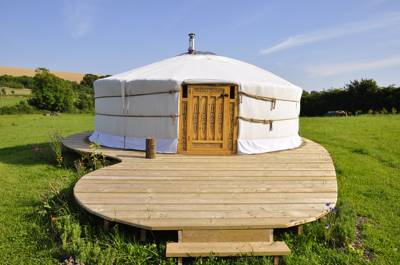 Green Valley Yurts Longmeadow, Godmanstone, Dorchester, Dorset DT2 7AE
