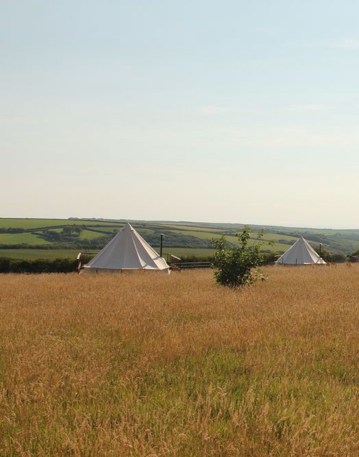 Glamping in Devon and Cornwall