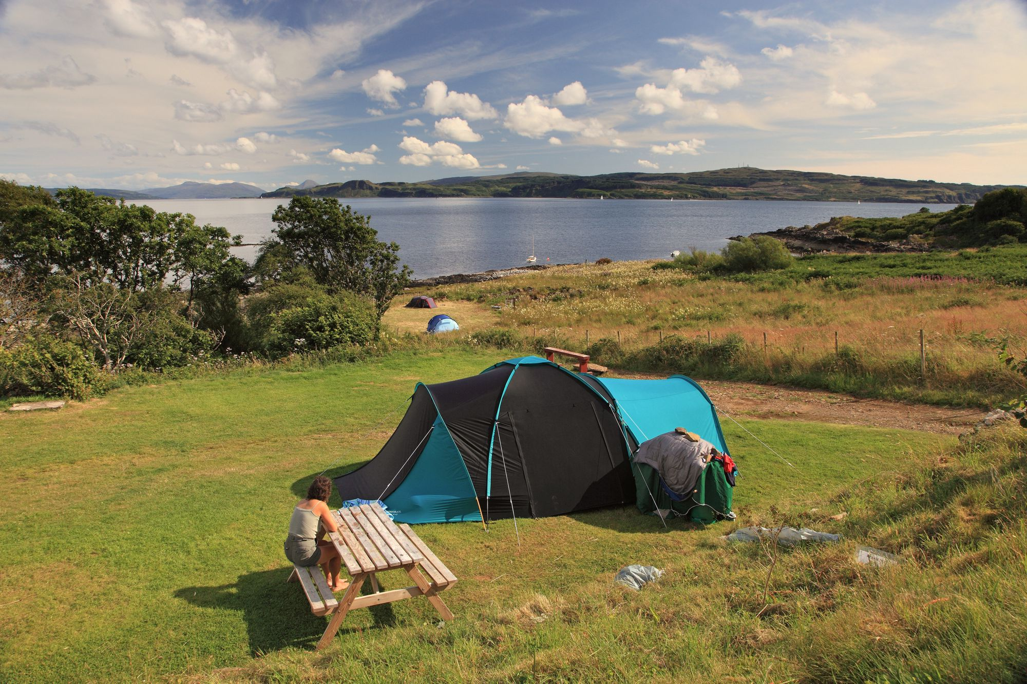 C&sites on the West Coast of Scotland & Campsites in Scotland u2013 The top-rated campsites in Scotland u2013 Cool ...