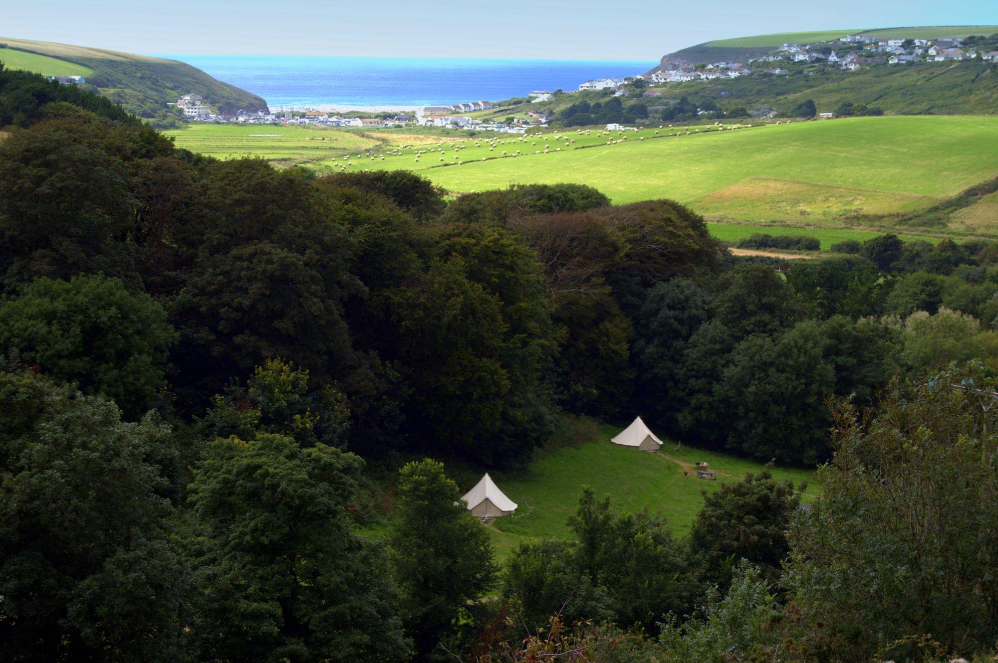 A wonderful rural location near the sea.