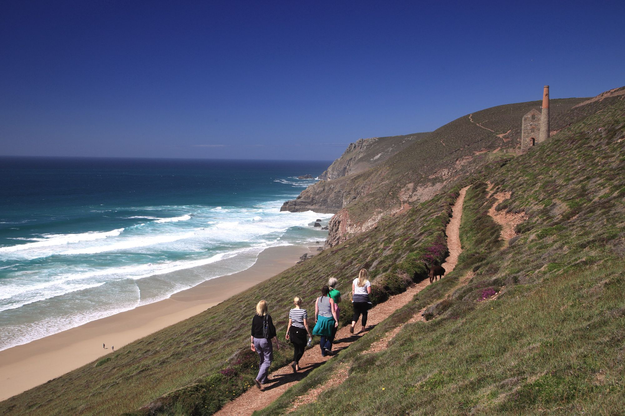 the south west coast path and its views