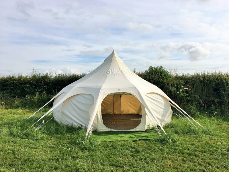 Unfurnished Lotus Belle Tent (no dogs)