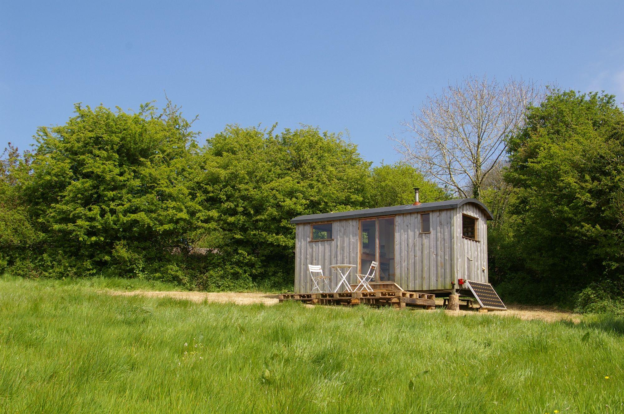 Shepherd's Hut Glamping in Pembrokeshire