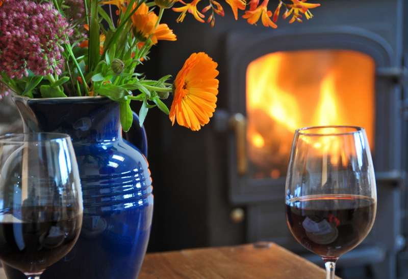 Cottages with fires and wood-burners