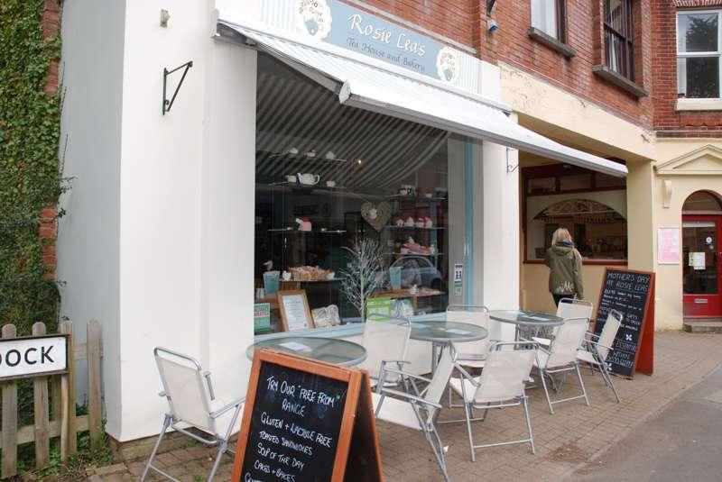 Rosie Lea's Tea House and bakery