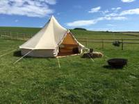 Furnished Bell Tent