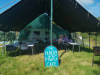 Non Electric Grass Tent Pitch