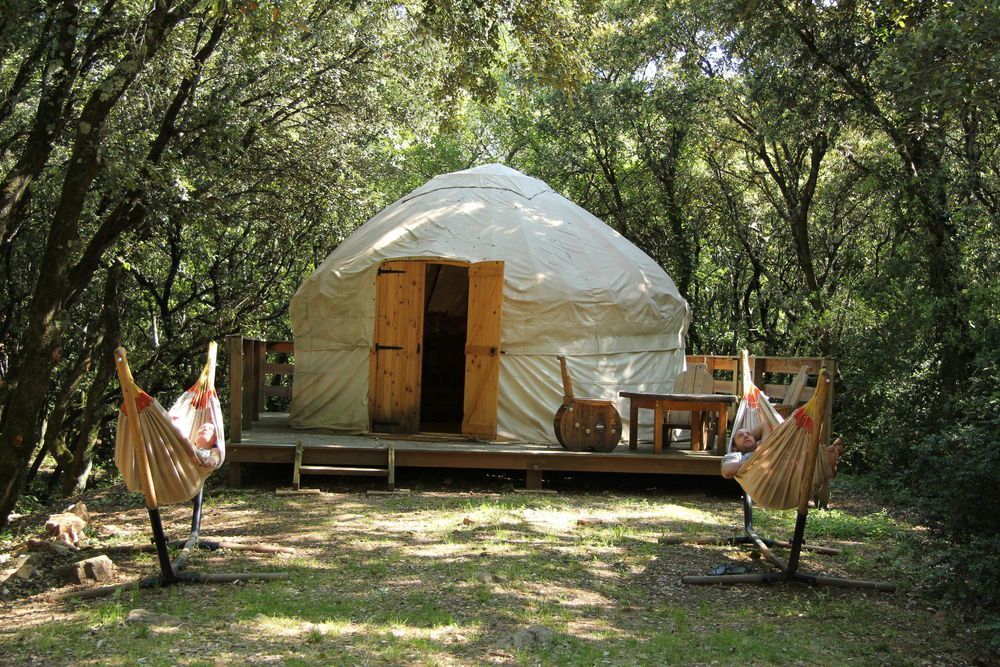Woodland Glamping in France