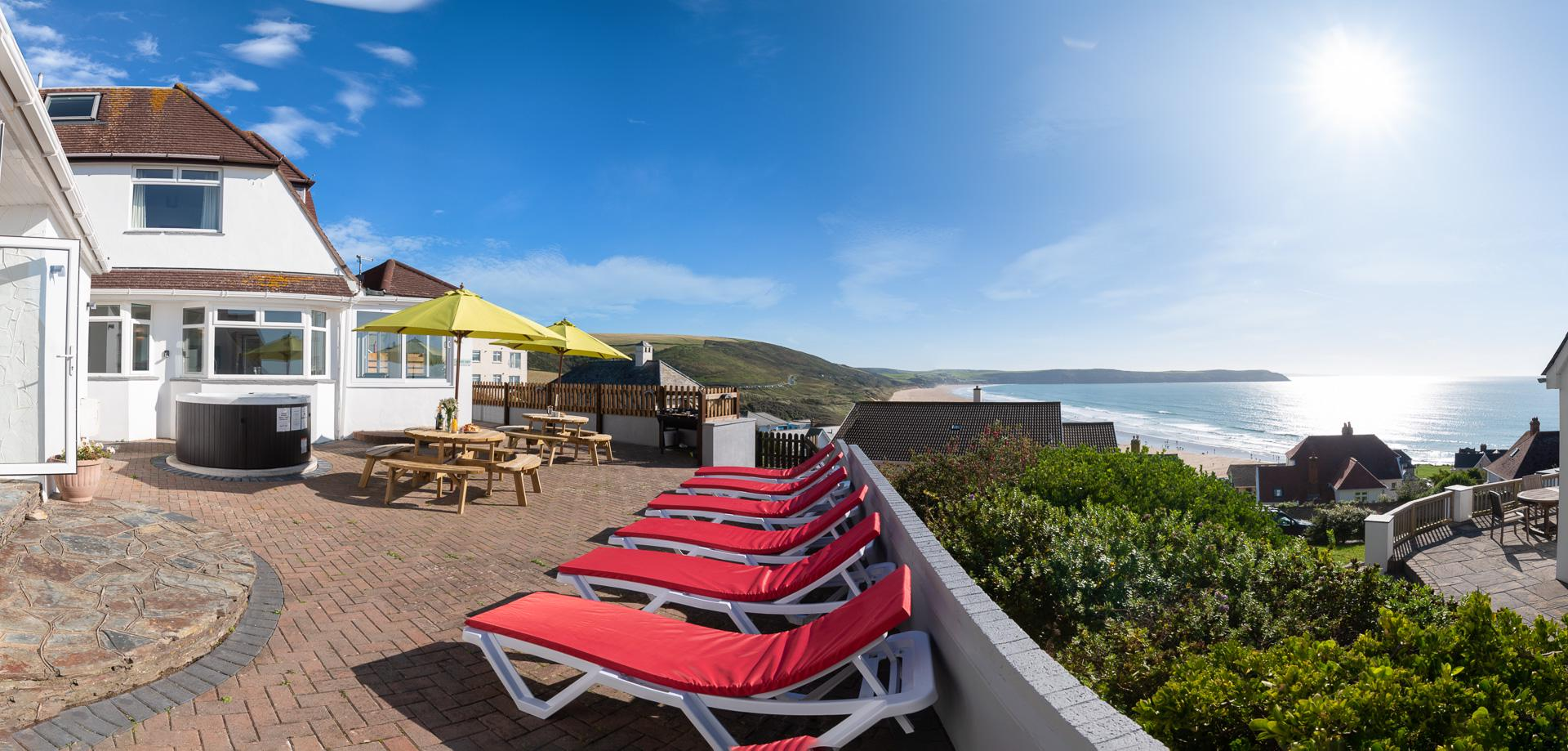 Self-Catering in Woolacombe holidays at Cool Places