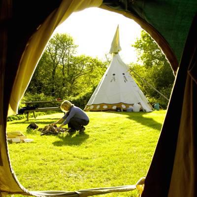 Cornish Tipi Holidays & Camping Tregildrans Quarry, Trelill, St Kew, Cornwall PL30 3HZ