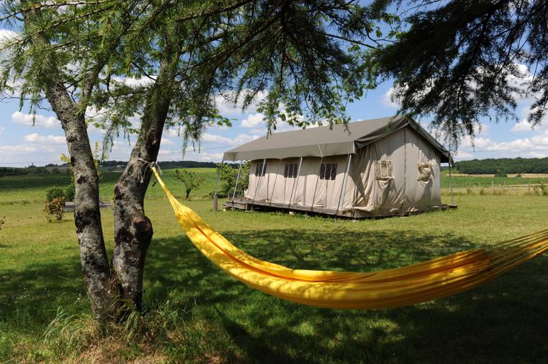 Glamping in Aquitaine