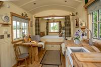 A remarkable Shepherd's Hut in the Cotswolds