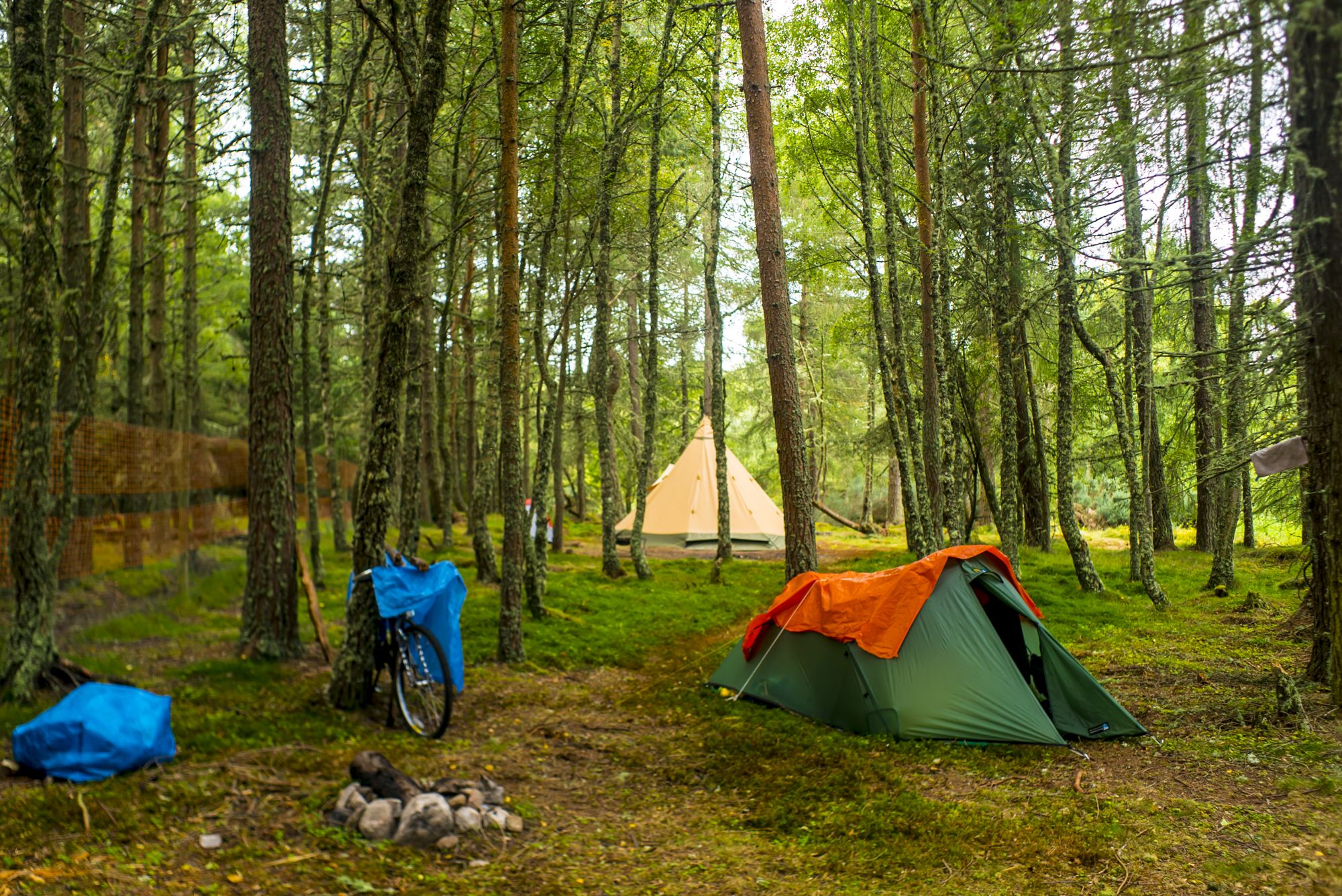 Campsites in Inverness-shire holidays at Cool Camping