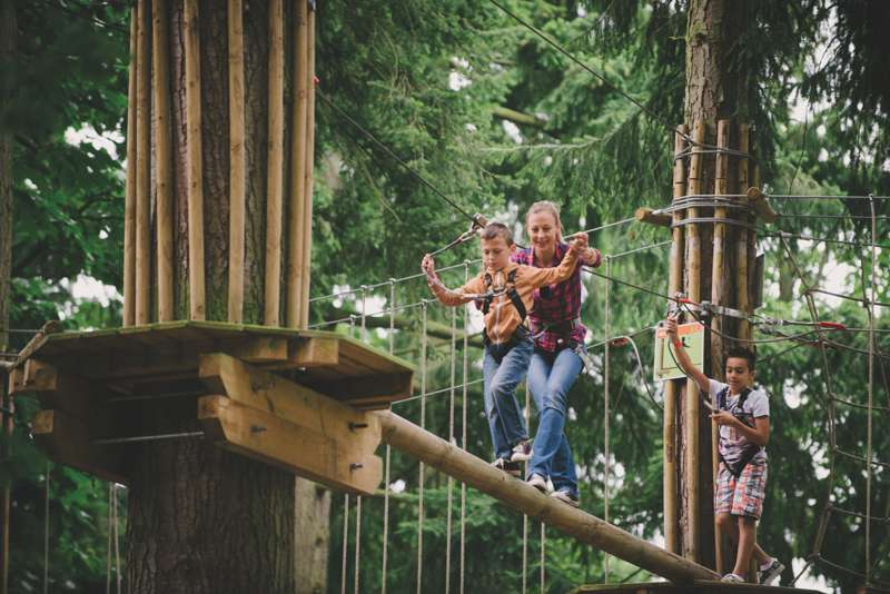 Win a Family Pass to Go Ape & a 2-night YHA stay!