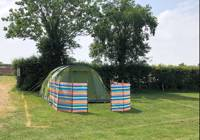 XL Electric Tent pitch/8 man