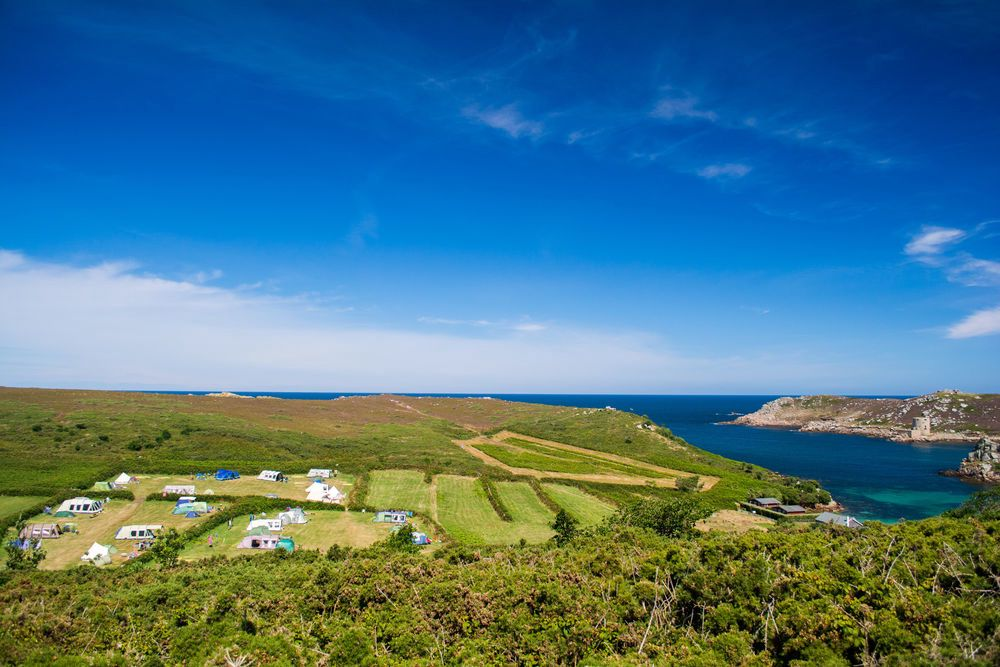 Campsites on the Isles Of Scilly