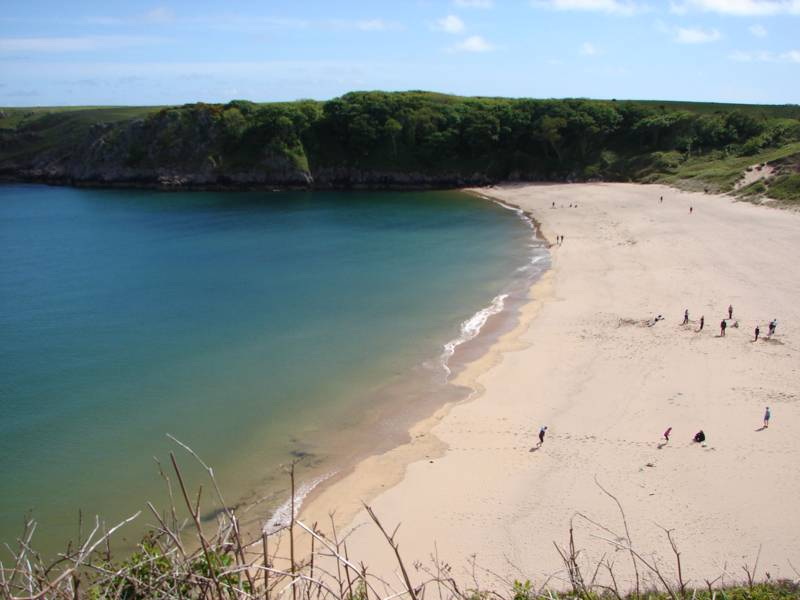 Barafundle Bay Camping | Campsites near Barafundle Bay, Pembrokeshire