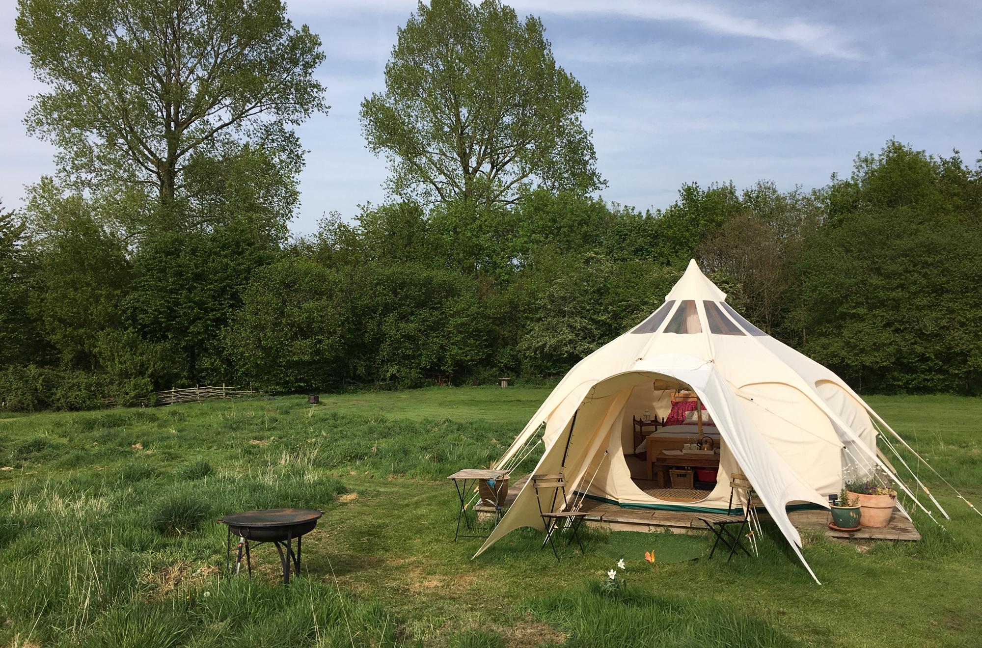 Campsites in Norfolk holidays at Cool Places