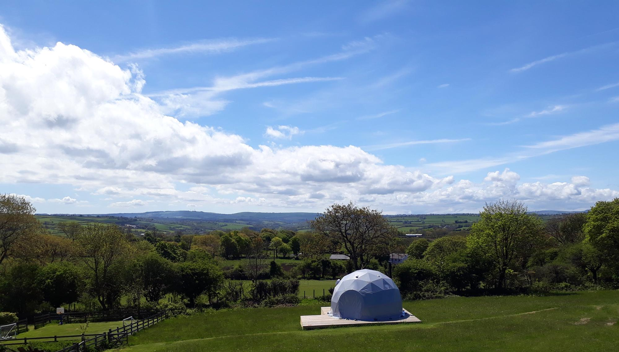 Campsites in Mid Wales holidays at Glampingly