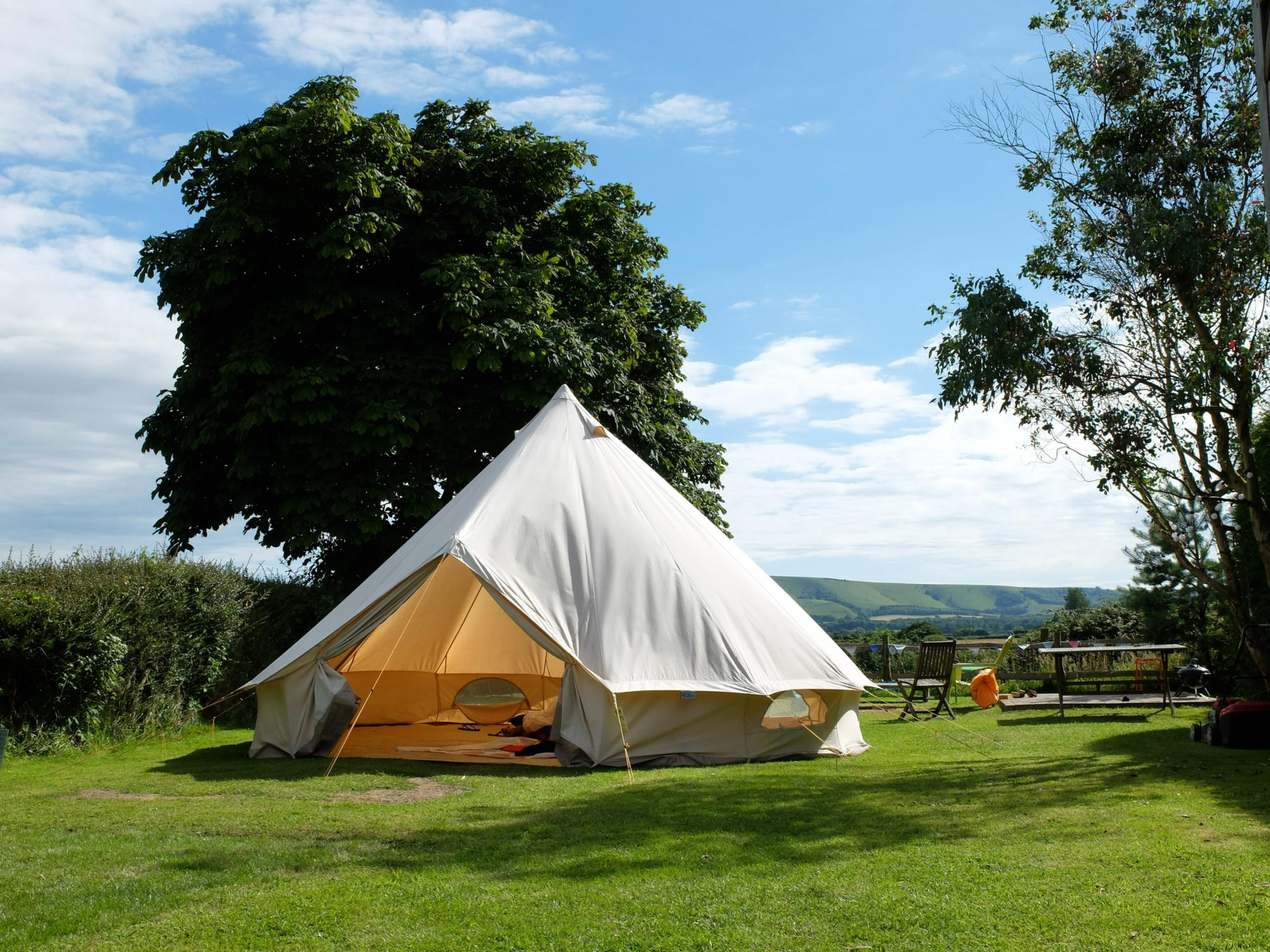 Glamping in England holidays at I Love This Campsite