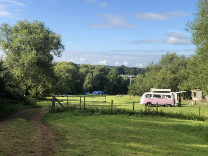 Non-electric grass campervan pitch