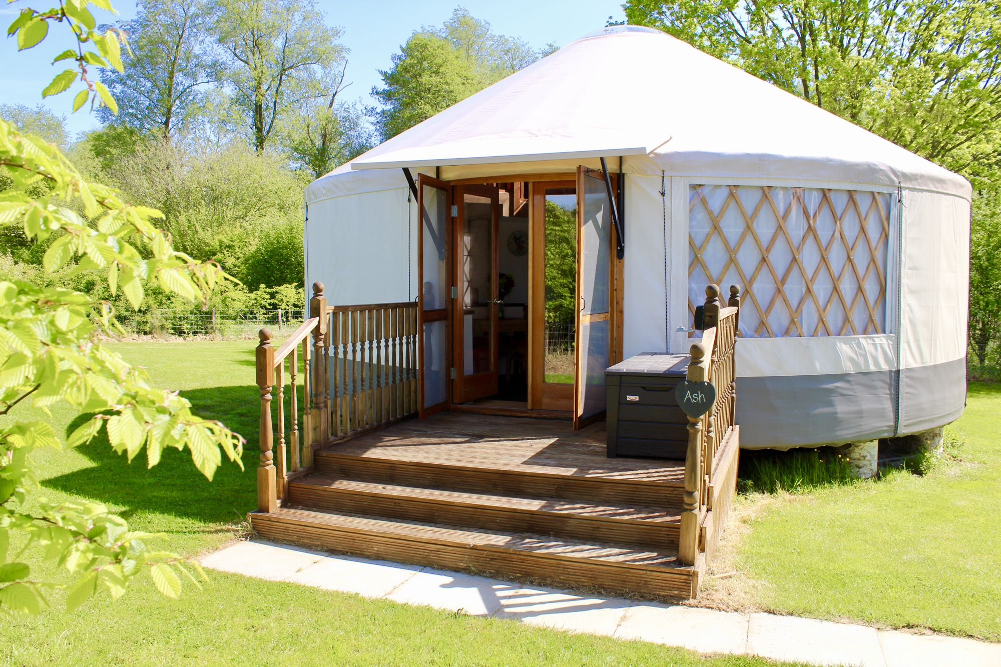 Campsites in Uckfield holidays at Cool Camping