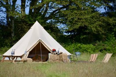 Sloeberry Farm Bell Tent 1
