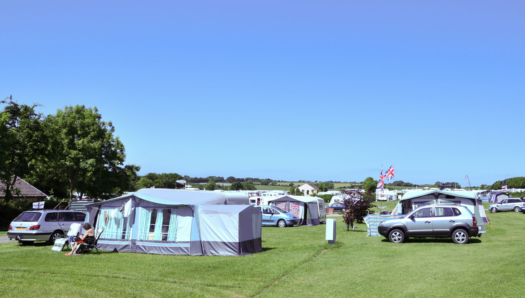 A huge family run campsite with a plethora of well kept facilities and an excellent North Devon locale.
