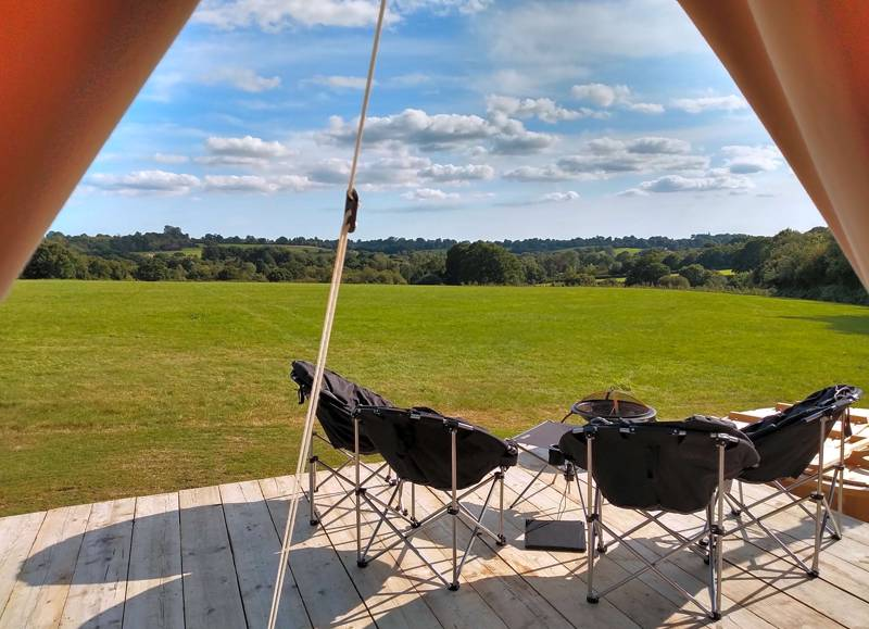 Hadlow Hideaways Glamping Hadlow Hideaways, Riverside, Uckfield, East Sussex TN22 5HS
